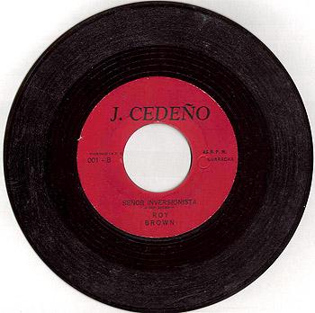 Misión José A. Cedeño (Noel Hernández – Roy Brown) [1970]
