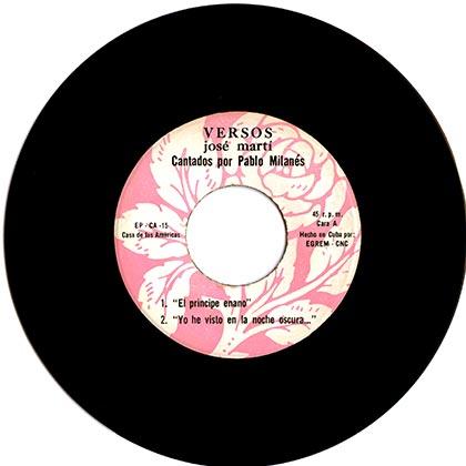 EP CA-15 (Pablo Milanés) [1973]