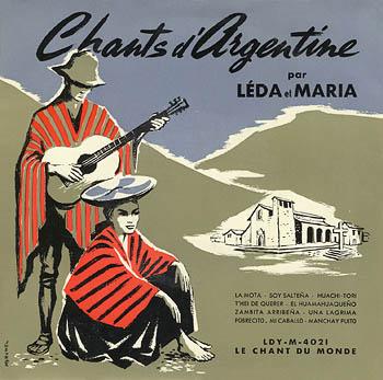 Chants d'Argentine (Leda y María)