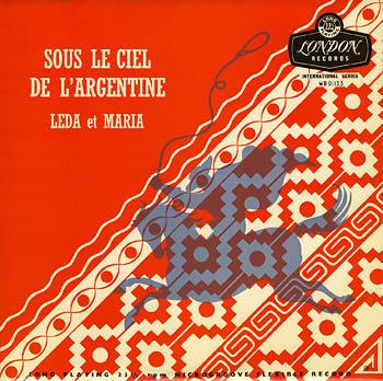 Sous le ciel de l'Argentine (Leda y María) [1955]