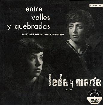 Entre valles y quebradas, vol 1 (Leda y María) [1957]