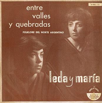 Entre valles y quebradas, vol 2 (Leda y María) [1957]