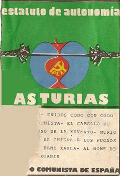 Estatuto de Autonomía Asturias. PCE (Obra colectiva) [1977]