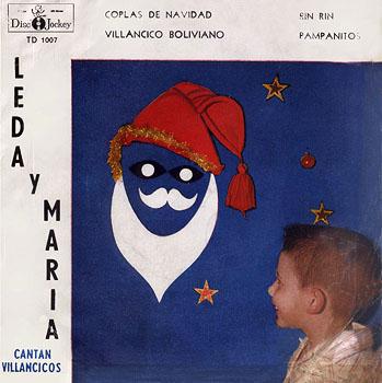Leda y María cantan villancicos (EP) (Leda y María) [1959]