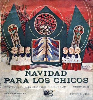 Navidad para los chicos (EP) (Leda y María - Roberto Aulés) [1963]