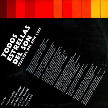 Festival del Son 1986 (Todo estrellas del Son) [1987]