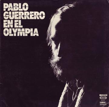 Pablo Guerrero en el Olympia (Pablo Guerrero) [1975]