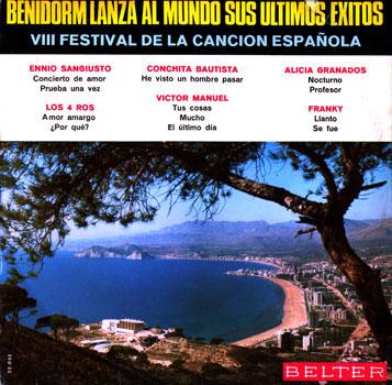 VIII Festival de la canción española, Benidorm 1966 (Obra colectiva)