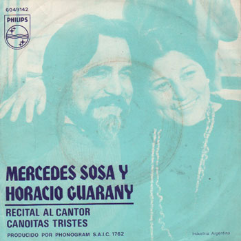 Recital al cantor (Mercedes Sosa - Horacio Guarany) [1974]