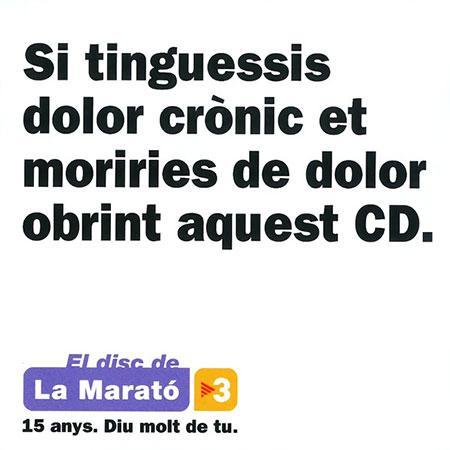 El disc de La Marató 2006 (Obra colectiva)