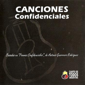 Canciones confidenciales (Obra colectiva)