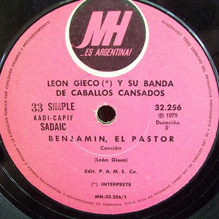 Benjamín el pastor (León Gieco) [1974]