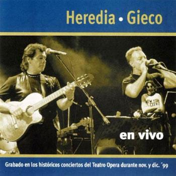 En vivo (V�ctor Heredia y Le�n Gieco)