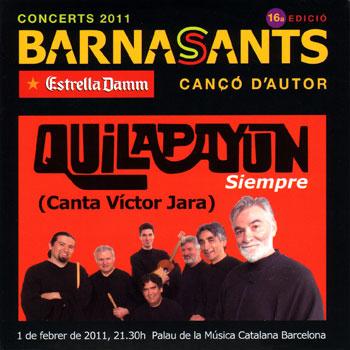 Siempre - Canta a Víctor Jara (Quilapayún - Carrasco) [2010]