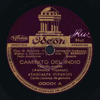 Caminito del indio (Atahualpa Yupanqui) [1936]