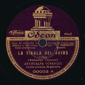 La vidala del adiós (Atahualpa Yupanqui) [1936]