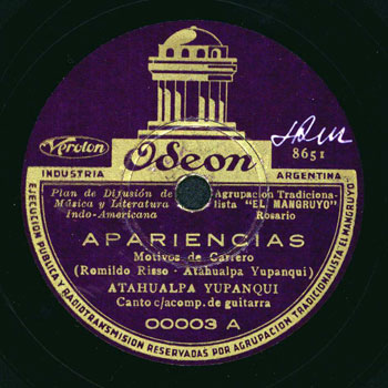 Apariencias (Atahualpa Yupanqui) [1936]