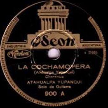 La cochamoyera (Atahualpa Yupanqui) [1941]