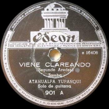 Viene clareando (Atahualpa Yupanqui)