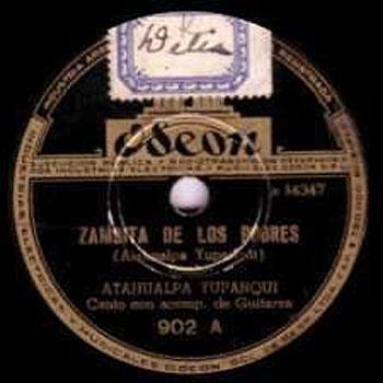 Zambita de los pobres (Atahualpa Yupanqui) [1944]