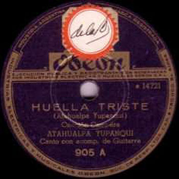 Huella triste (Atahualpa Yupanqui) [1945]