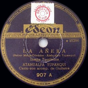 La añera (Atahualpa Yupanqui) [1946]