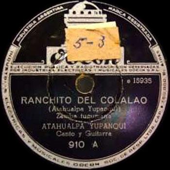 Ranchito del Colalao (Atahualpa Yupanqui) [1946]