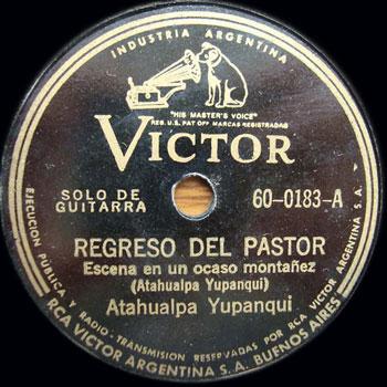 Regreso del pastor (Atahualpa Yupanqui)
