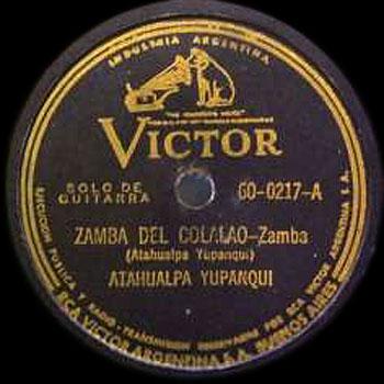 Zamba del colalao (Atahualpa Yupanqui) [1943]