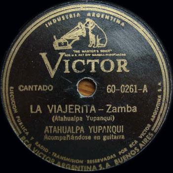 La viajerita (Atahualpa Yupanqui) [1944]