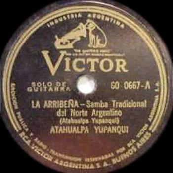 La arribeña (Atahualpa Yupanqui) [1945]