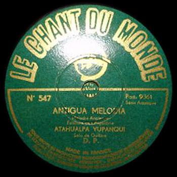Antigua Melod�a (Atahualpa Yupanqui)