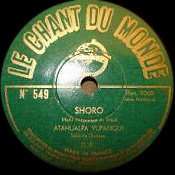 Shoro (Atahualpa Yupanqui)