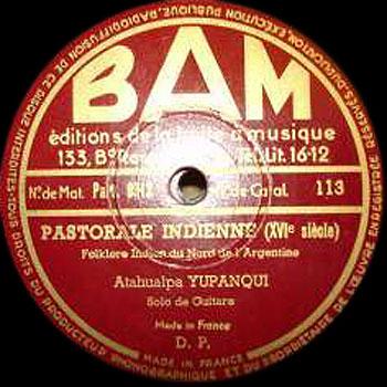 Pastorale Indienne (Atahualpa Yupanqui) [1951]