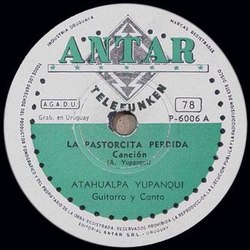 La pastorcita perdida (Atahualpa Yupanqui)