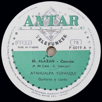 El alazán (Atahualpa Yupanqui) [1957]