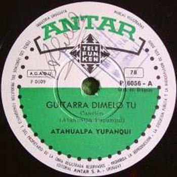 Guitarra dímelo tú (Atahualpa Yupanqui)