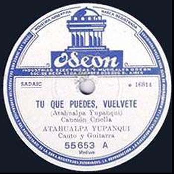 Tú que puedes, vuélvete (Atahualpa Yupanqui) [1953]