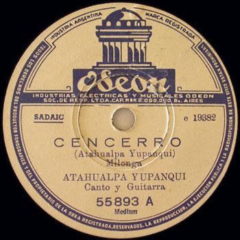 Cencerro (Atahualpa Yupanqui)