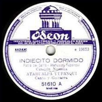 Indiecito dormido (Atahualpa Yupanqui) [1954]