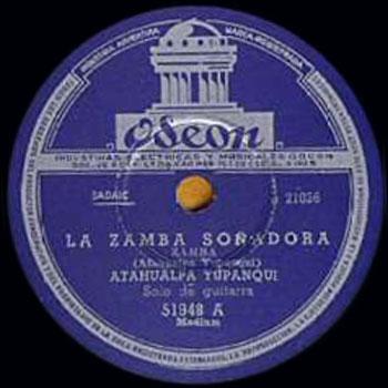La zamba soñadora (Atahualpa Yupanqui)