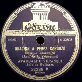 Oración a Pérez Cardoso (Atahualpa Yupanqui) [1957]