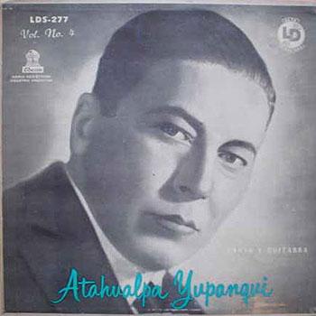 Canto y guitarra (Volumen 4) (Atahualpa Yupanqui) [1957]