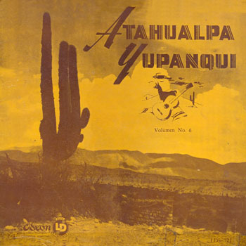 Solo de guitarra (Volumen 6) (Atahualpa Yupanqui) [1958]