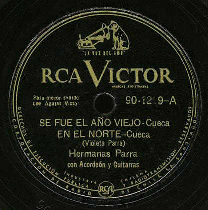 RCA Victor 90-1219 (Hermanas Parra)