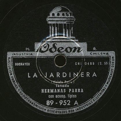 Odeón 89-952 (Hermanas Parra)