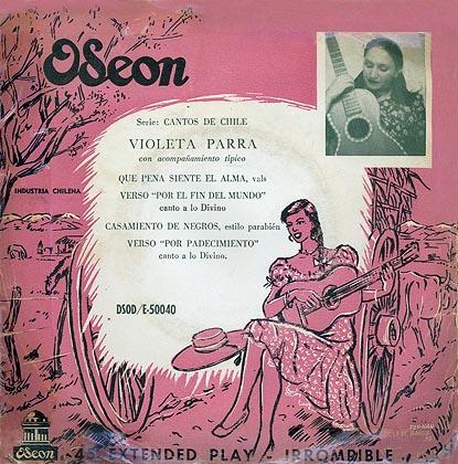 Odeón DSOD/E-50040 (EP) (Violeta Parra) [1955]