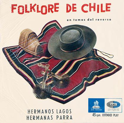 Odeón DSOD/E-50169 (EP) (Hermanas Parra - Hermanos Lagos) [1958]