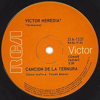 RCA Victor 31A-1537 (Víctor Heredia)