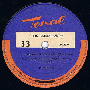 Tonal CP 5012 (EP) (Los Olimareños) [1965]